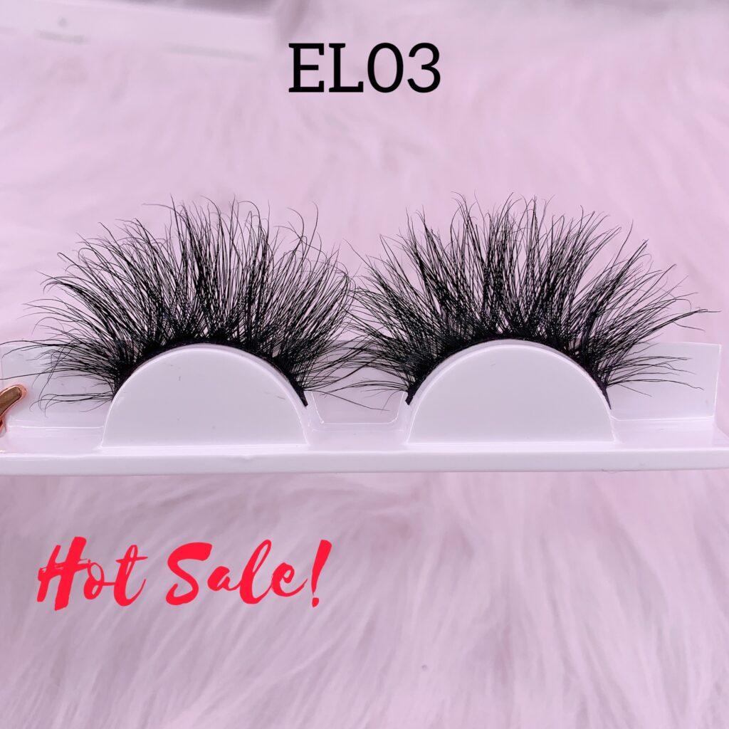25mm mink lashes EL03