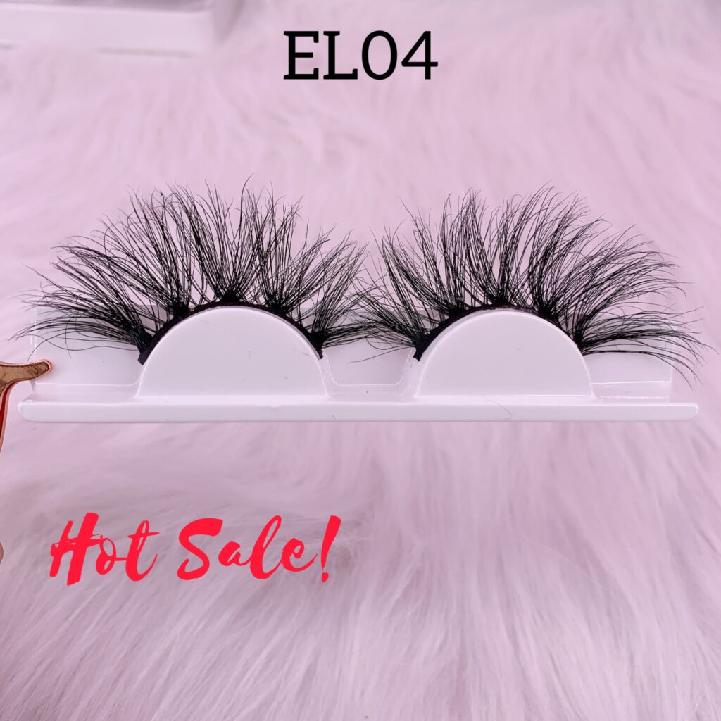 25mm mink lashes EL04