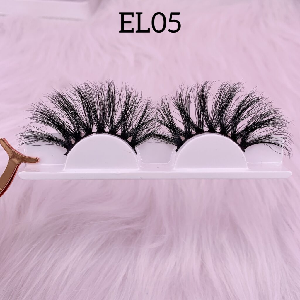 25mm mink lashes EL05