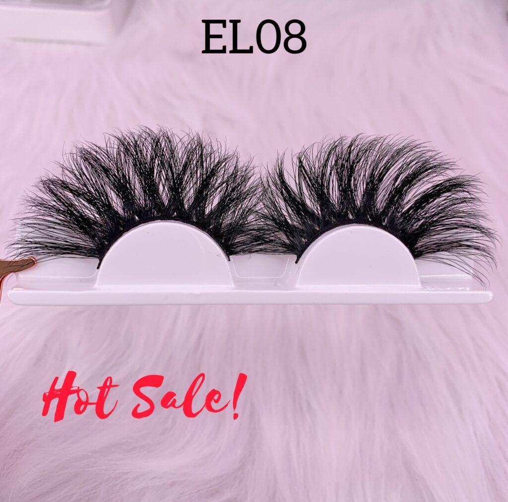 25mm mink lashes EL08
