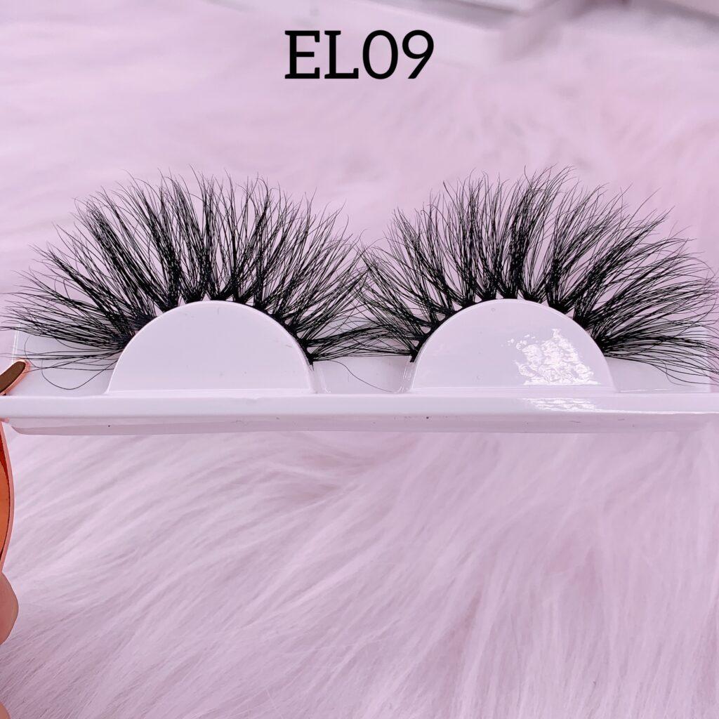 25mm mink lashes EL09