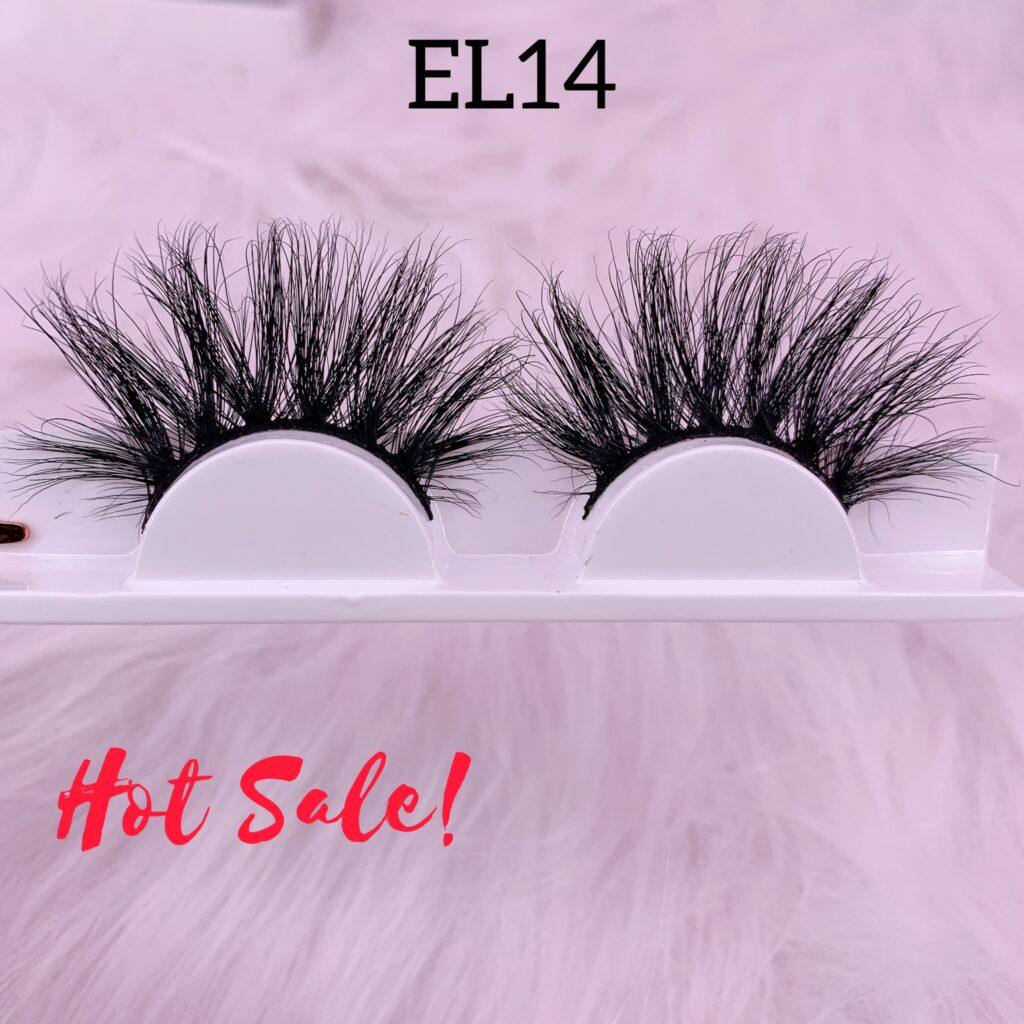 25mm mink lashes EL14