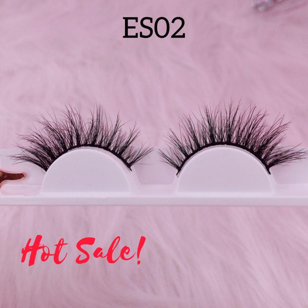 16mm mink lashes ES02