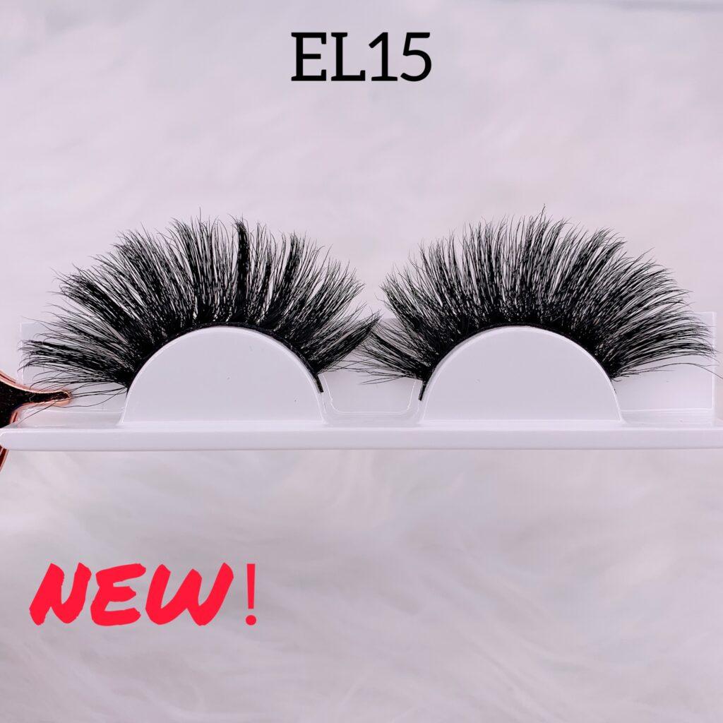 25mm mink lashes EL15