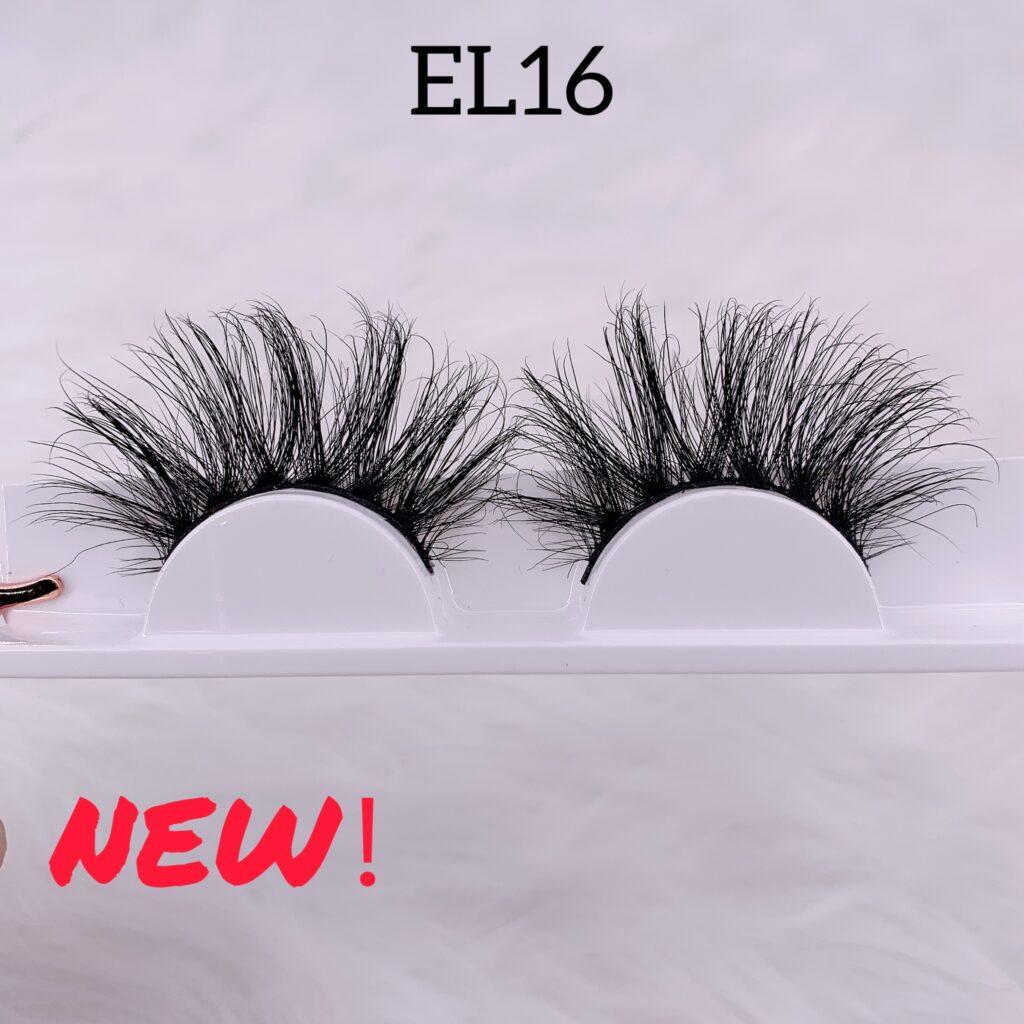 25mm mink lashes EL16