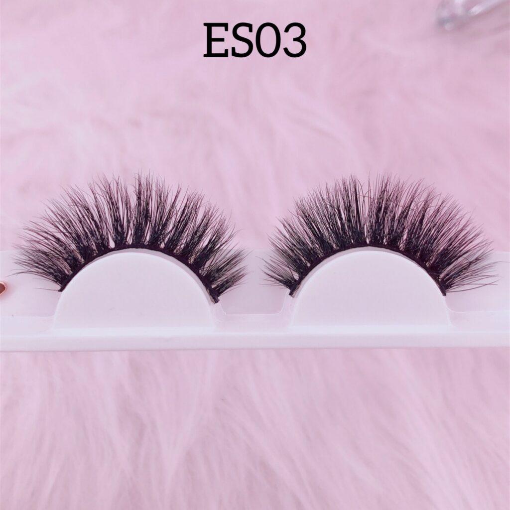 16mm mink lashes ES03