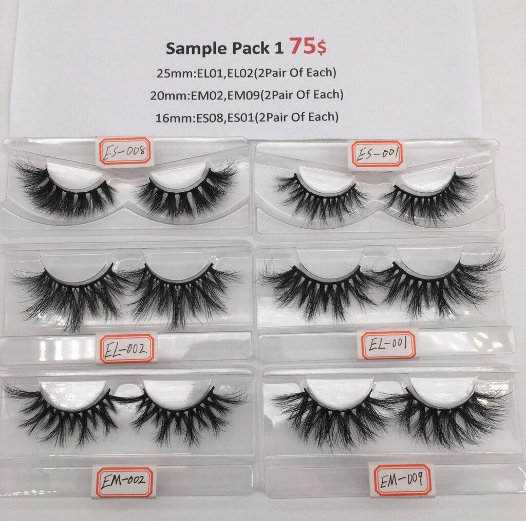 eyelash sample pack 1