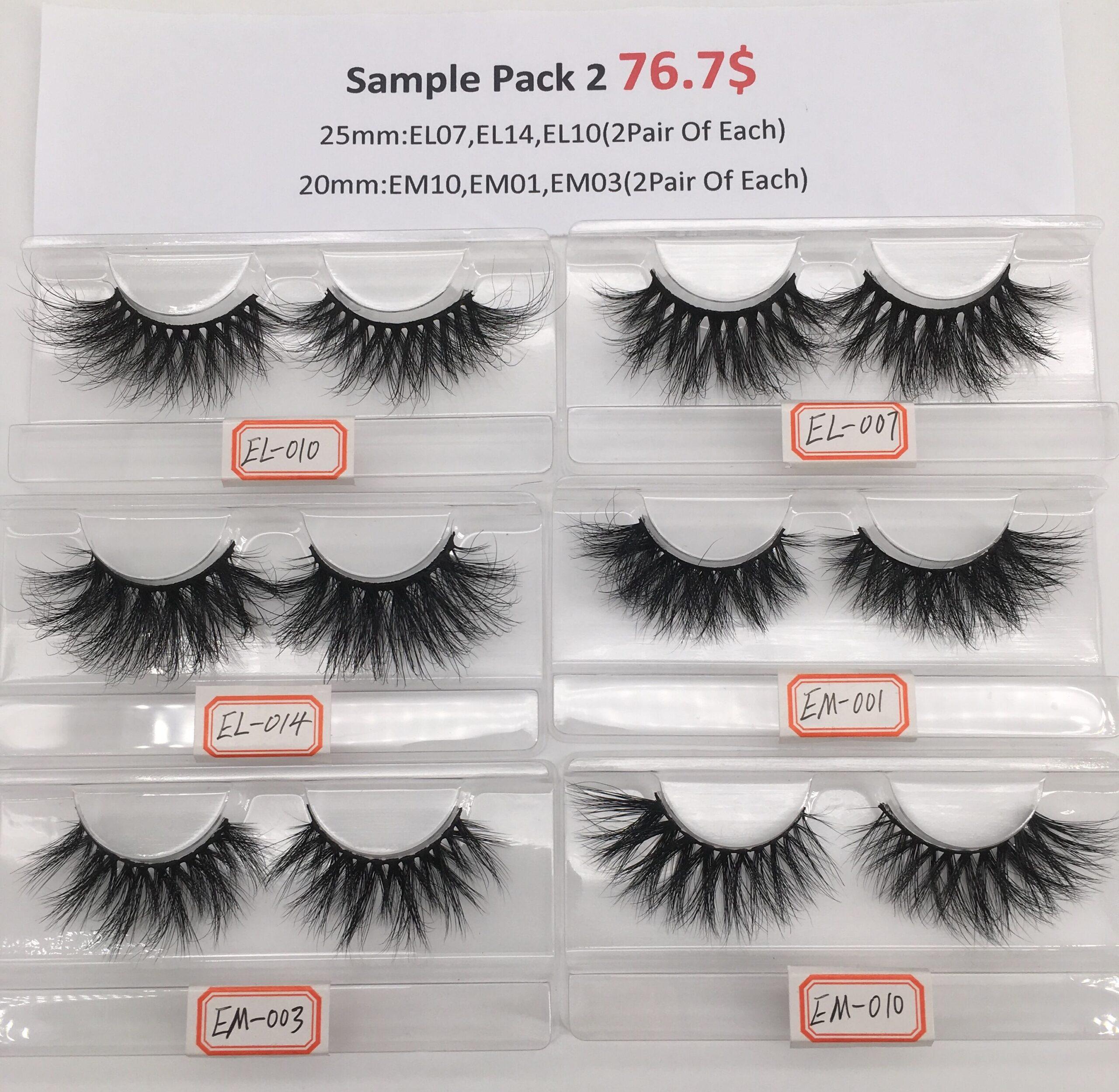 eyelash sample pack 2