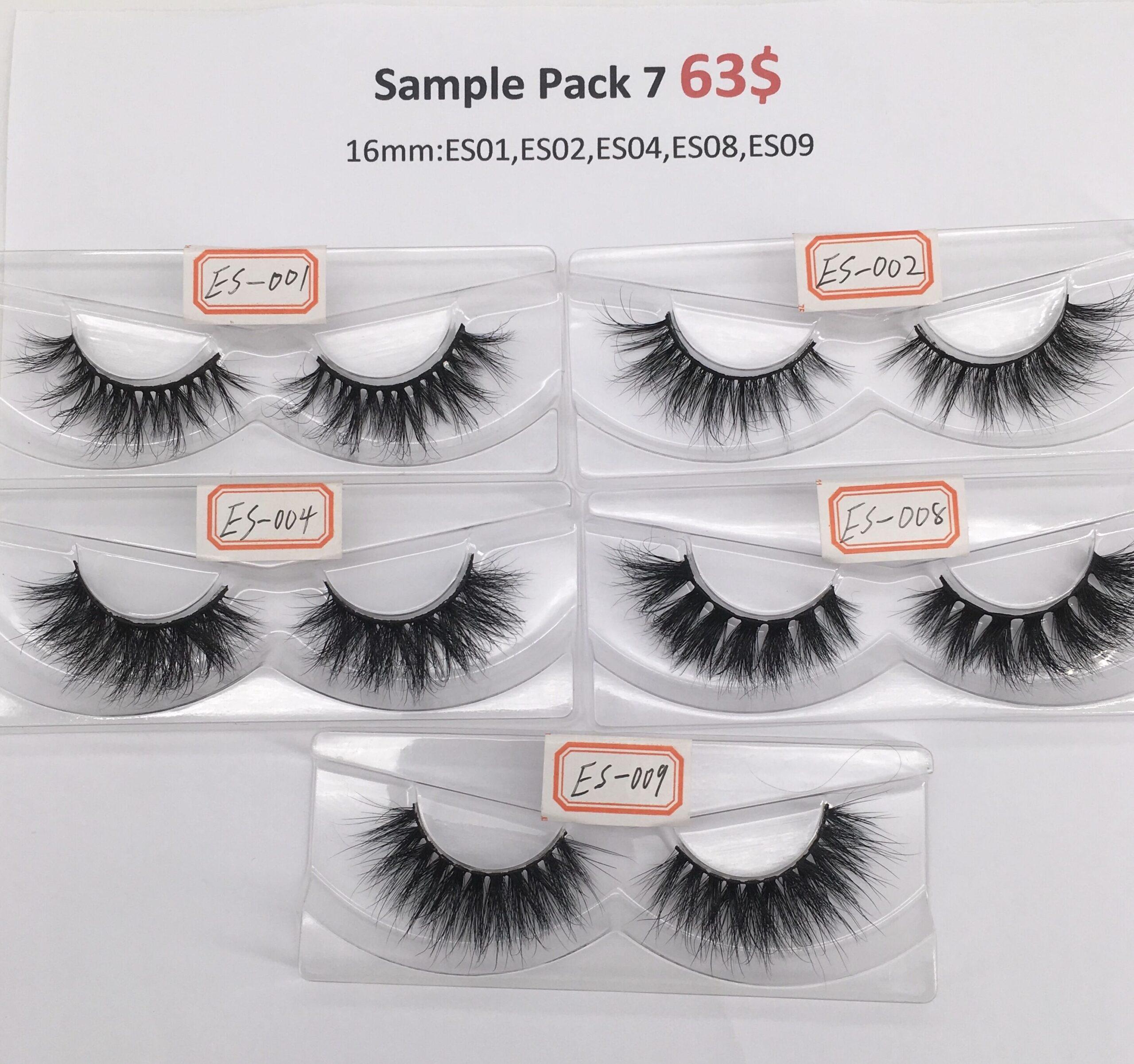 eyelash sample pack 7