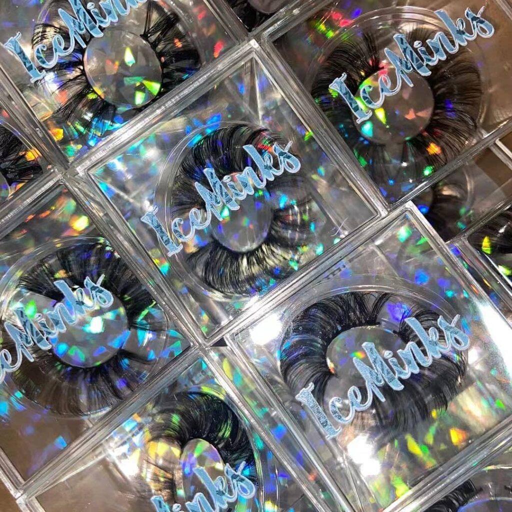 acrylic eyelash packaging