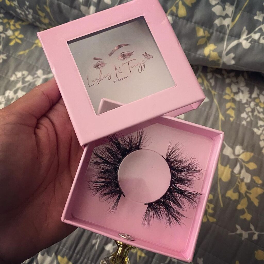 16mm lashes eyelash boxes