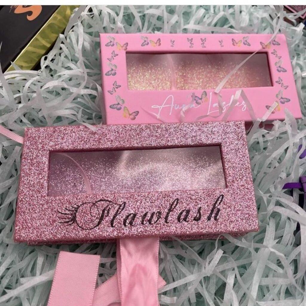 20mm lashes custom eyelash boxes