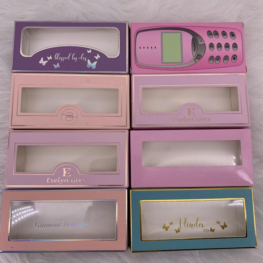 eyelash packaging paper box