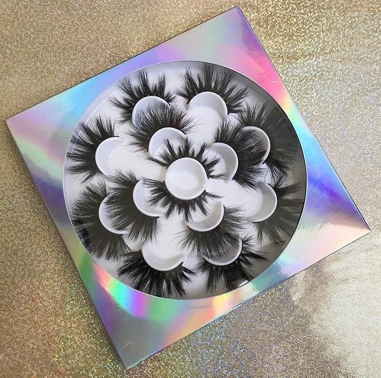 flower lash boxes book